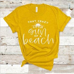 c8fa484f2f9 Crazy little Sun of a Beach - Beach Shirt - Vacay